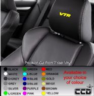 Citroen VTR Logo Car seat Decals